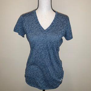 Under Armour Blue Short Sleeve Shirt